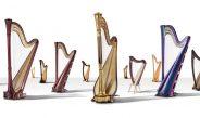 Expoziție de Harpe Salvi și Lyon & Healy la București