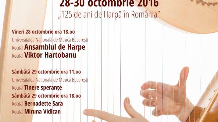 Festivalul de Harpă București 2016