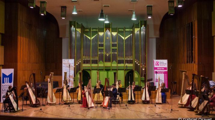 FHB 2016 28 oct 2016 | Recital Deschidere - Ansamblul de Harpe