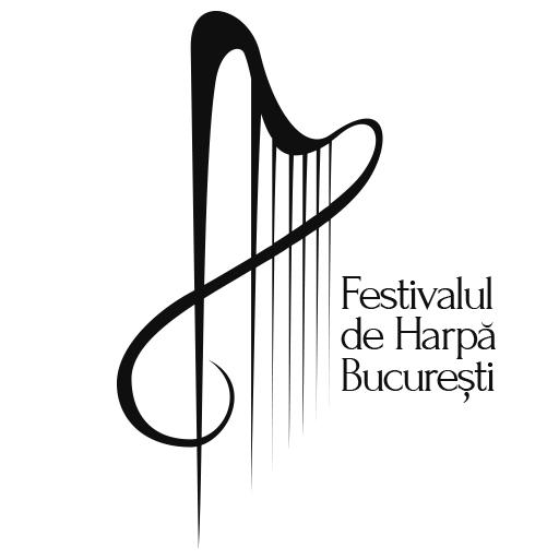 Logo Festivalul de Harpă București